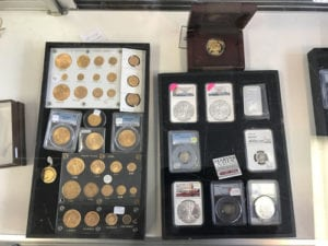 coin collecting in marine il