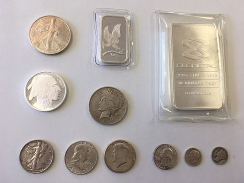 old silver coins marine il