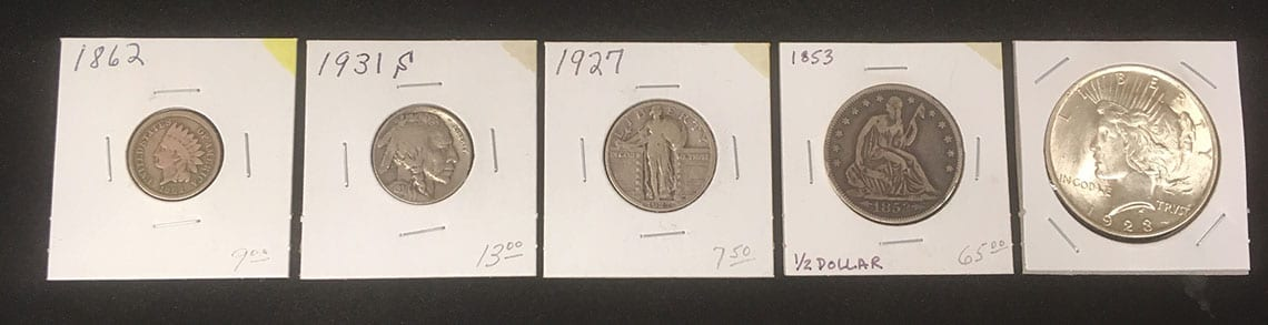collectible coins marine il