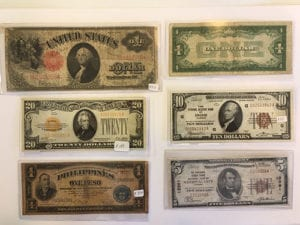 old currency marine il